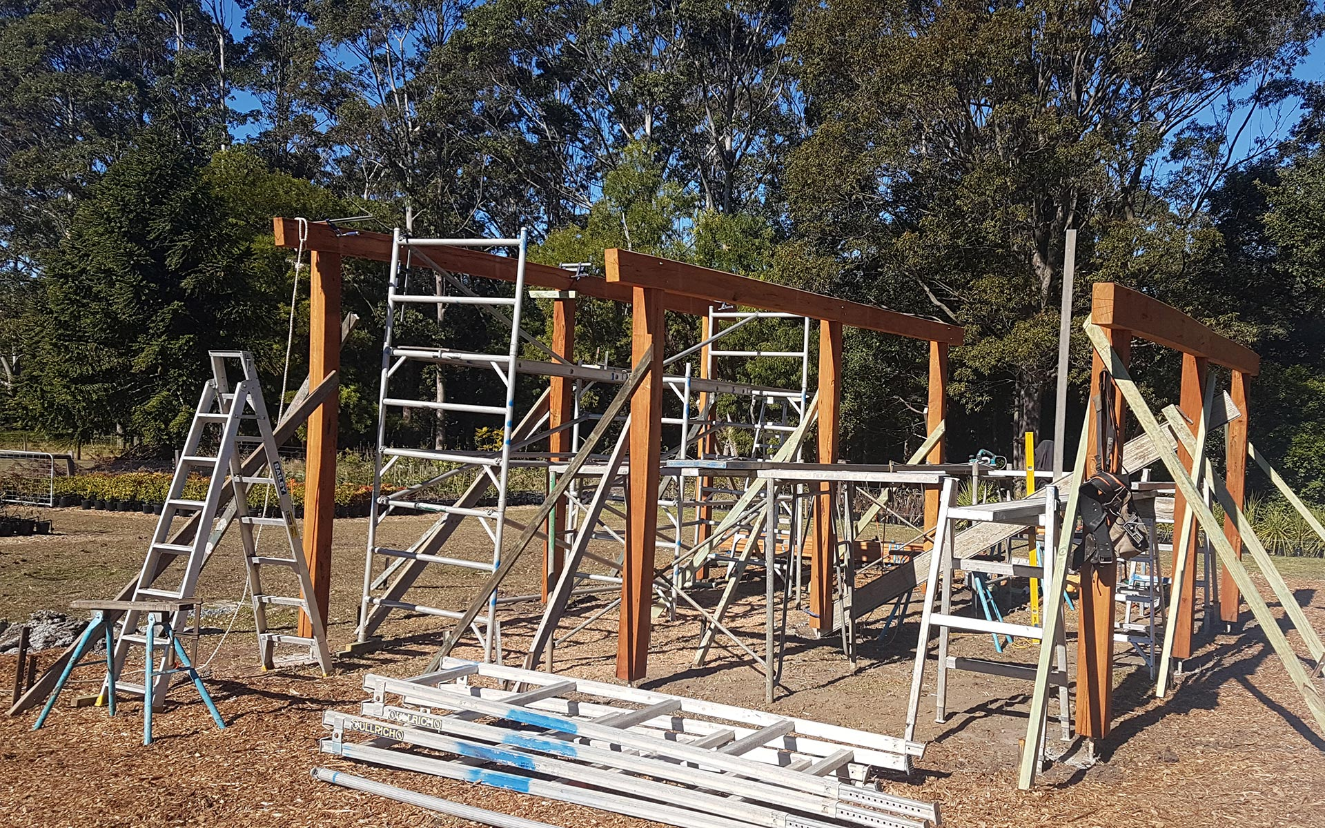 Timber Frames and Decks Ulludulla South Coast - Southpac Builders